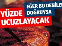 Kırmızı et ve kıyma fiyatları en az yüzde 30 inecek