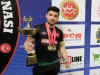 Pendikli Ali Karaçete Türkiye Bilek Güreşi Şampiyonu