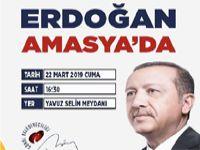 Cumhurbaşkanı Amasya'ya Geliyor