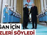 Erdoğan için bu sözleri söyledi!