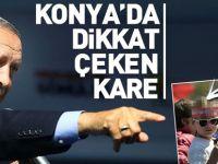 Başkan Erdoğan'a Konya'da sevgi seli