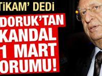Cindoruk'tan skandal 31 Mart açıklaması!