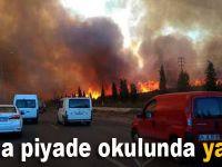 Tuzla Piyade Okulu'nda Korkutan Yangın!