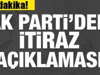 AK Parti'den sondakika İstanbul açıklaması!