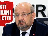 AK Partili İl Başkanı görevinden istifa etti