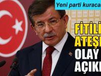 Ahmet Davutoğlu fitili ateşledi olay açıklama