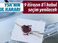 İstanbul'da itirazların 8'i kabul edildi seçim yenilenecek mi?