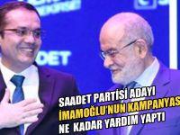 SP'li başkan adayı Ali Aktaş, İmamoğlu'nun seçim kampanyasına bağış yaptı!