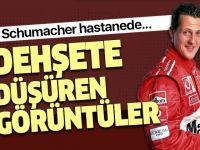 Michael Schumacher'in görüntüleri dehşete düşürdü!