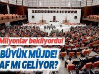 3600 ek gösterge EYT yasası son durum Meclis'e geldi mi?.