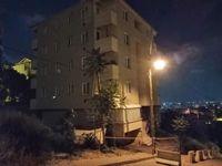 Pendik'te yıkılma tehlikesi olan 5 katlı bina boşaltıldı