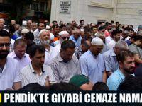 Pendik'te Şehit Mursi için Gıyabi Cenaze Namazı