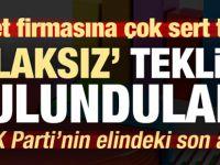 Anket firmasından AK Parti'ye 'ahlaksız' teklif!