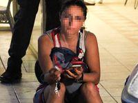 Kocasını bıçaklayan kadının hareketleri kan dondurdu!