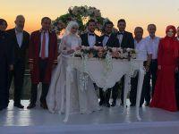 İşadamı Muzaffer Karatay kızını evlendirdi