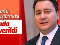 Ali Babacan'a FETÖ soruşturması! Savcılıktan kritik karar