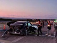 İstanbul yolunda feci kaza: 2 ölü, 2 yaralı