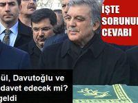AK Parti Gül, Davutoğlu ve Babacan'ı davet edecek mi?
