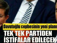 Davutoğlu cephesinin yeni planı!