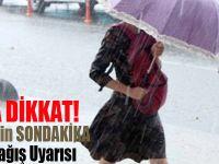 Meteoroloji'den İstanbul için son dakika sağanak yağış uyarısı