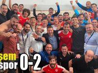 Pendikspor Çorum'dan mutlu döndü:0-2