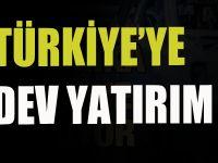 Türkiye'ye dev yatırım.. Birlerce istihdam