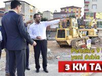 Pendik'e 9 km'lik yeni duble yol..