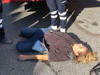 İstanbul'da yerde yatan kadın polisi harekete geçirdi!