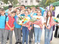 Tuzla'da TÜBİTAK Fuarı asker selamıyla açıldı