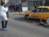 Pendik'te bindiği taksinin sürücüsünü vurdu!