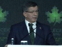 Gelecek Partisi'ni kuran Ahmet Davutoğlu'ndan AK Parti taklidi