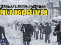 Kar için alarm! Meteoroloji'den peş peşe son dakika uyarıları