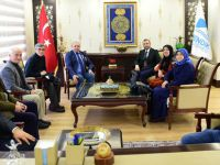 Gazi ve Şehit yakınlarından Ahmet Cin'e ziyaret