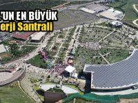 İstanbul'un en büyük güneş enerji santrali bu ilçede!