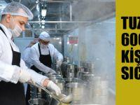 Tuzla'da 600 bin kişiye sıcak aş!