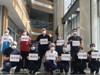 Şadi Yazıcı'dan doktorlara moral desteği