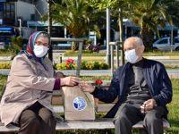 Tuzla'da bayram sürprizi, yürekleri ısıttı