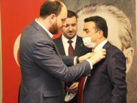 Saadetli Belediye Başkanı AK Parti'ye geçti