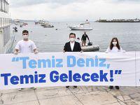 Gençler Tuzla'da denizden neler çıkardı neler!