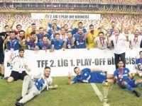 Tarihi başarı! Tuzlaspor 1. Lig'de
