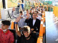 Tuzla Belediyesi, koca yürekli Diyarbakırlı çocuklara ilklerle dolu keyifli bir gün yaşattı