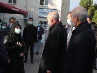 Cumhurbaşkanı Erdoğan Tuzla'da cenaze törenine katıldı