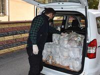 Tuzla'da Karantinada Olanlara Her Gün Üç Çeşit Yemek