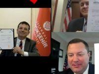 Amerika Büyükelçiliği'nin Büyükşehir paylaşımına büyük tepki