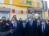 PTT AŞ'DEN TEL ABYAD'DA YENİ HİZMET NOKTASI