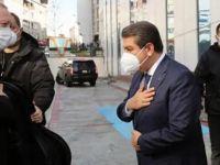 Erdoğan'dan Esenler Belediyesi'ne ziyaret