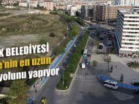 İstanbul'un en uzun bisiklet yolu Pendik'te