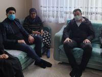 Pendik'li Gara Şehit'inin annesini ziyaret ettiler