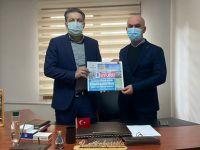 AK Parti İlçe Başkanı Ali Şirin'den Duyuru Gazetesi'ne ziyaret
