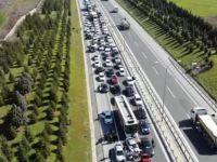 Trakya'da Sarıgül'e sevgi seli.. Binlerce araçlık konvoy